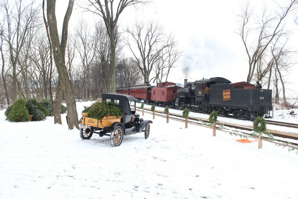 Christmas Tree Train - Berks County Living