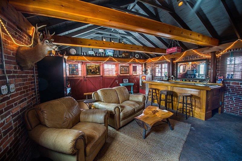 A Garage Turned Backyard Bar Berks County Living