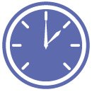 targeted display clock icon
