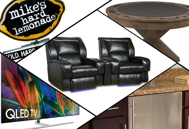 5 things for the ultimate man cave