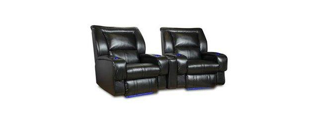 faceras black recliner
