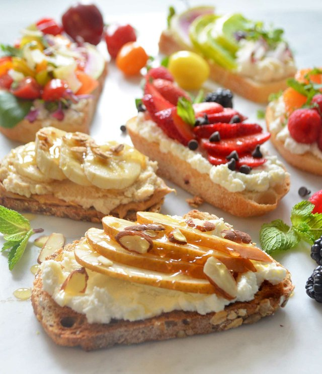 Ricotta Toast Treats