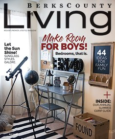 Berks County Living May 2018 cover