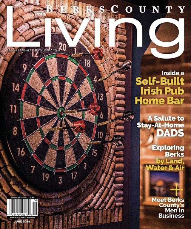Berks County Living June 2018 cover