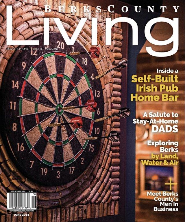 Berks County Living June 2018 cover